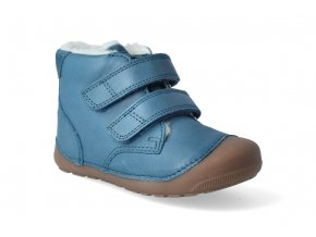 barefoot zimni obuv bundgaard petit mid winter petrol 3