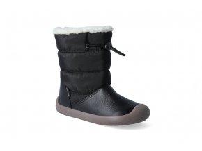 barefoot zimni obuv s membranou bundgaard walker pull tex black 3