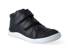 barefoot kotnikova obuv s membranou baby bare febo fall black asf 2