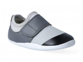 barefoot capacky bobux xplorer dimension ii trainer grey charcoal 3