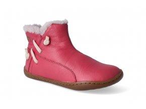 barefoot zimni obuv camper peu cami pink 3