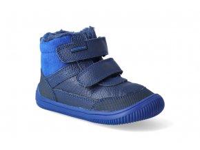 barefoot zimni obuv protetika tyrel blue 3
