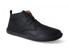 barefoot zimni obuv blifestyle classicstyle bio wax fleece black 2