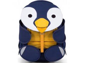 Dětský batoh do školky Affenzahn Polly Penguin large - Petrol