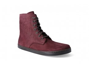 barefoot zimni obuv peerko go 2 0 maroon 3