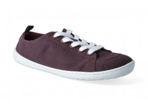 barefoot tenisky mukishoes low cut plum 3