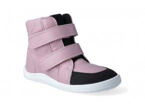 barefoot zimni obuv s membranou baby bare febo winter candy asfaltico 2