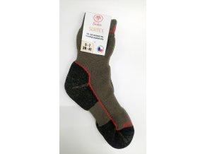Ponožky SURTEX - ZIMA pro dospělé khaki
