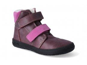 Barefoot zimní obuv s membránou Jonap B4MV Vínová 2