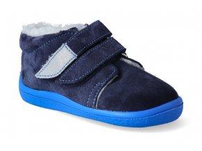 barefoot zimni kotnikova obuv s membranou beda daniel 2