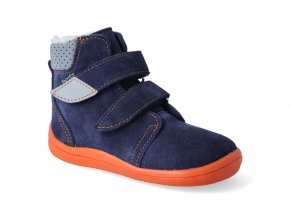 barefoot zimni obuv s membranou beda blue mandarine 2020 2