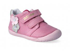 barefoot kotnikova obuv d d step 070 506a dark pink 2