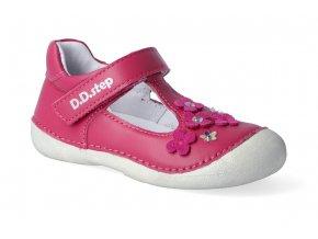 baleriny d d step 015 467b dark pink 2