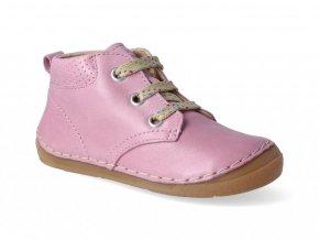 Kotníková obuv Froddo - Flexible Pink tkanička