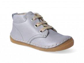 Kotníková obuv Froddo - Flexible Light Grey tkanička