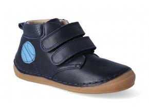 kotnikova obuv froddo flexible dark blue s aplikaci 4 2