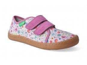 barefoot tenisky froddo bf pink platene 3
