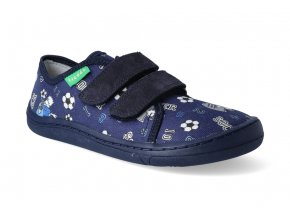 barefoot tenisky froddo bf blue platene 3
