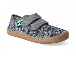 barefoot tenisky froddo bf grey platene 2
