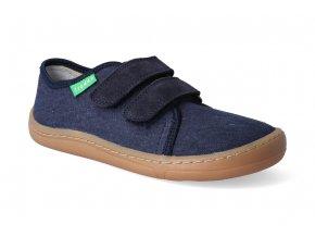 barefoot tenisky froddo bf dark blue platene 3