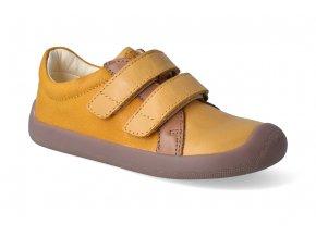 barefoot tenisky bundgaard walker yellow 2
