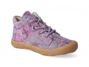 barefoot kotnikova obuv ricosta pepino dots purple m 2