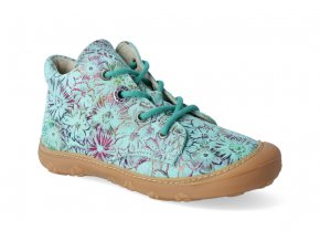barefoot kotnikova obuv ricosta pepino dots jade m 3