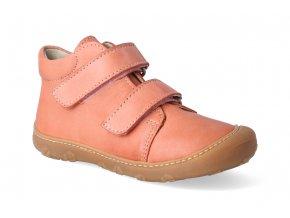 barefoot kotnikova obuv ricosta pepino chrisy peach m 3