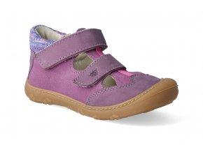 barefoot sandalky ricosta pepino ebi purple nubuk m 2