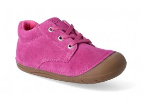 barefoot kotnikova obuv lurchi flo suede pink 3