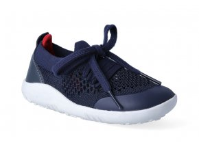 barefoot capacky bobux play knit navy red 3