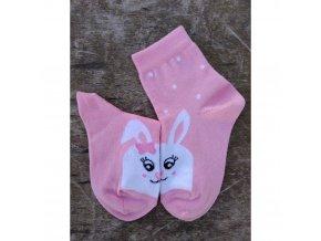 detske ponozky kralik