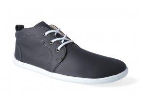 barefoot kotnikova obuv be lenka icon dark grey 3
