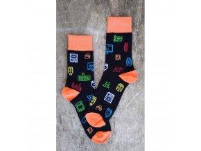 vzorovane ponozky adapter