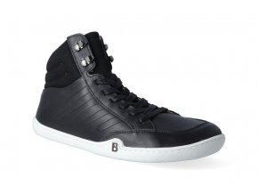 barefoot kotnikova obuv blifestyle urbanstyle nappa black 3