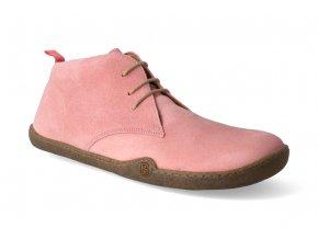 barefoot kotnikova obuv blifestyle classicstyle bio rose 2