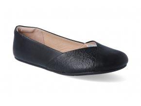 barefoot baleriny xero shoes phoenix black leather 3
