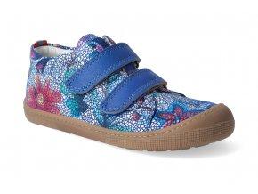 barefoot tenisky koel4kids bernardinho royal flowers 3