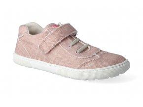 barefoot tenisky koel4kids bernardo canvas pink 2