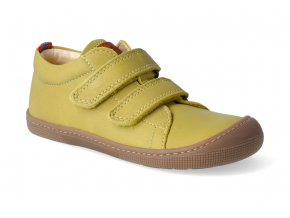 barefoot tenisky koel4kids bernardinho mustard 3