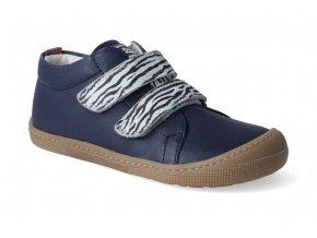 barefoot tenisky koel4kids bernardinho ocean zebra 2