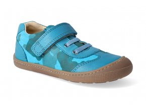 barefoot tenisky koel4kids bernardinho turquoise 2 2