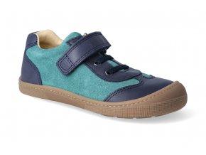 barefoot tenisky koel4kids bernardinho blue aqua 3