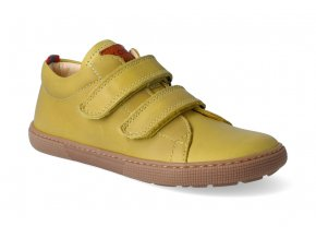 barefoot tenisky koel4kids bernardo mustard 3