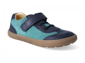 barefoot tenisky koel4kids bernardo blue aqua 2
