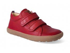 barefoot tenisky koel4kids bernardo red 2