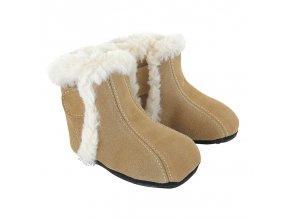 Zimní barefoot obuv Jack & Lily - Gabriel