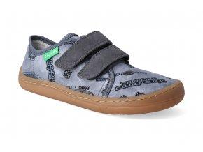barefoot tenisky froddo bf light grey platene 3