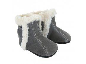 Zimní barefoot obuv Jack & Lily - Kian