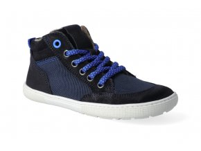 barefoot kotnikova obuv koel4kids bernardo fleece blue 2